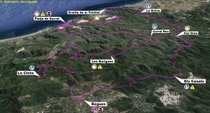 Vista aérea del recorrido de la Long Trail 2014