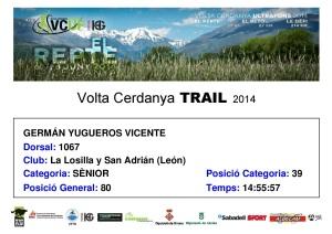 Diploma VCT 87 km 2014