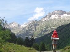 Auténtico placer patear entre los Pirineos.