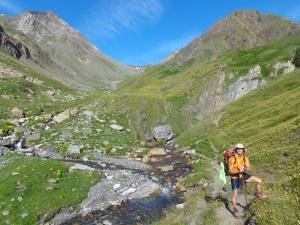 Buscando el ascenso al Collado de Chasteau