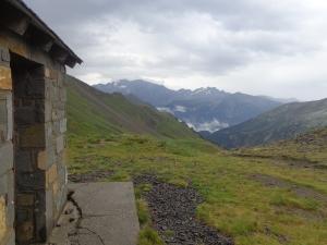 Cabaña de Lisier. Pocos metros de cruzar el Collado de Urdiceto.